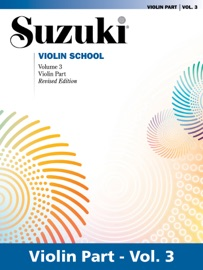 SUZUKI VIOLIN SCHOOL - VOLUME 3 (REVISED)