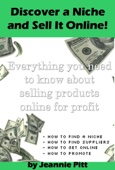 Discover a Niche and Sell It Online - Jeannie Pitt Cover Art
