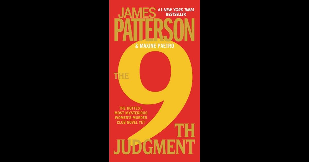 The 9th Judgment (The Women's Murder Club) by James Patterson, Good Book