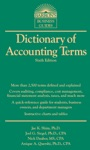 Dictionary Of Accounting Terms 6th Edition