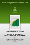 Summary Of Carl Boyers History Of The Calculus And Its Conceptual Development
