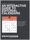 An Interactive Guide To Editorial Calendars