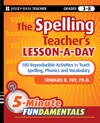 The Spelling Teachers Lesson-a-Day