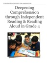 Deepening Comprehension Through Independent Reading  Reading Aloud In Grade 4