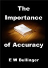 The Importance Of Accuracy