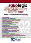 Ratio Legis Numero 2 Anno 2016