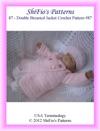 Pattern 87 Double Breasted Jacket Baby Crochet Pattern