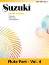 Suzuki Flute School - Volume 4 Revised