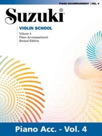 SUZUKI VIOLIN SCHOOL - VOLUME 4 (REVISED)