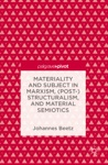 Materiality And Subject In Marxism Post-Structuralism And Material Semiotics