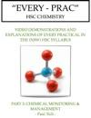 Every Prac HSC Chemistry 3