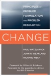 Change Principles Of Problem Formation And Problem Resolution