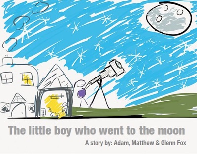 The little boy who went to the Moon