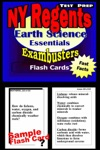NY Regents Earth Science Test Prep Review--Exambusters Flashcards