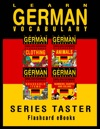 Learn German Vocabulary Series Taster - EnglishGerman Flashcards