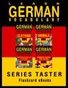 Learn German Vocabulary Series Taster - EnglishGerman Flashcards