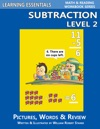 Subtraction Level 2 Pictures Words  Review