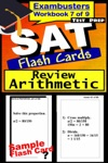 SAT Test Prep Arithmetic Review--Exambusters Flash Cards--Workbook 7 Of 9