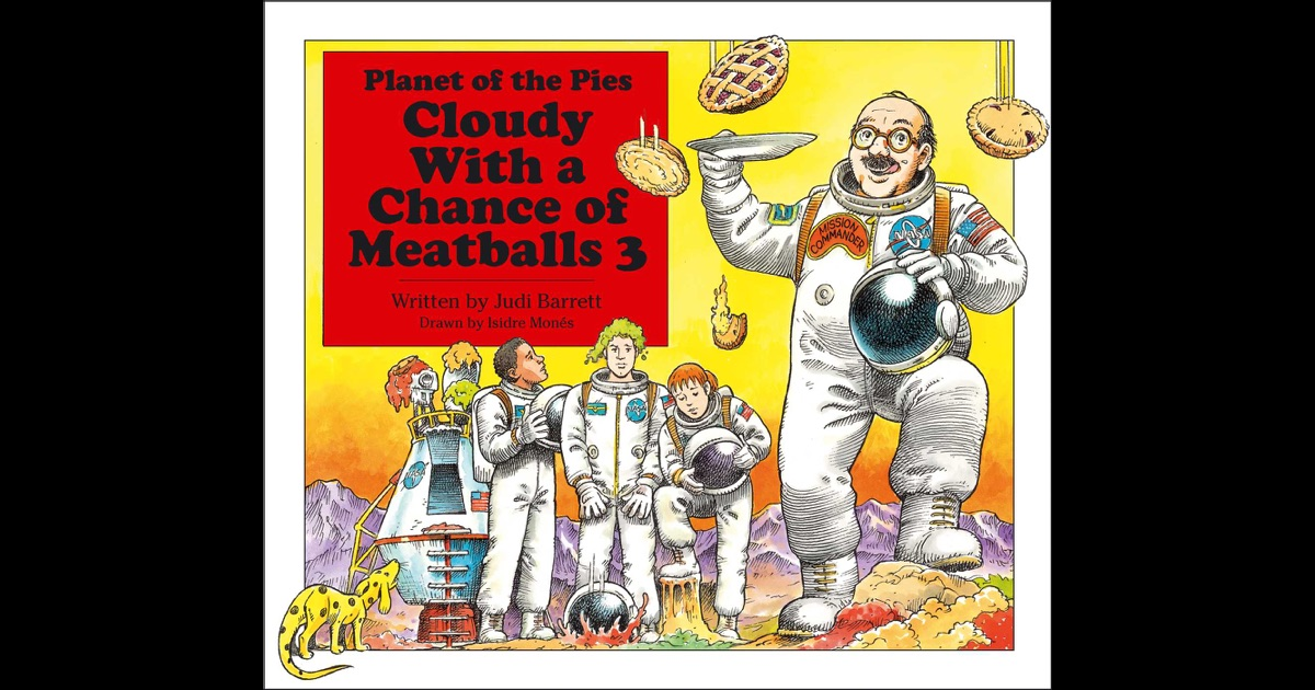 Cloudy with a Chance of Meatballs 3 by Judi Barrett on iBooks