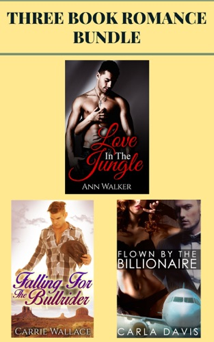 3 Book Romance Bundle Love in the Jungle  Falling for the Bull Rider  Flown by the Billionaire