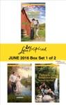 Harlequin Love Inspired June 2016 - Box Set 1 Of 2