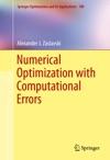 Numerical Optimization With Computational Errors