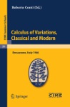 Calculus Of Variations Classical And Modern