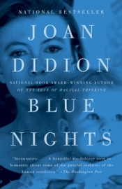 Blue Nights - Joan Didion Book