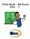 Fifth Grade Math Book Part - I