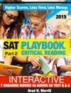 SAT Playbook Critical ReadingPart 2