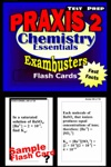 PRAXIS II Chemistry Test Prep Review--Exambusters Flash Cards