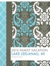 2013 Family Vacation Scrapbook