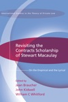 Revisiting The Contracts Scholarship Of Stewart Macaulay