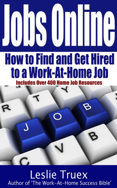Jobs Online Find And Get Hired To A Work At Home Job By