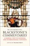 Re-Interpreting Blackstones Commentaries