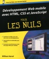 Dveloppement Web Mobile Avec HTML CSS Et JavaScript Pour Les Nuls