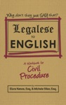 Legalese To English A Workbook For Civil Procedure