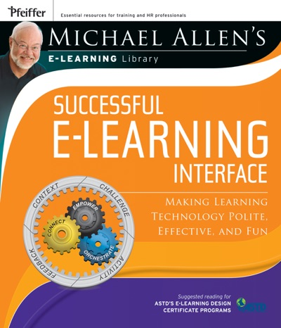 Michael Allens Online Learning Library Successful e-Learning Interface