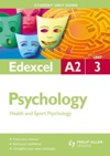 Edexcel A2 Psychology Student Unit Guide Unit 3 New Edition          Criminological And Child Psychology