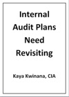 Internal Audit Plans Need Revisiting
