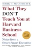 Mark H. Mccormack - What They Don't Teach You at Harvard Business School  artwork