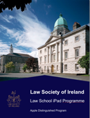 Law Society of Ireland - Law School iPad Programme - Apple Distinguished Program