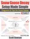 Snow Goose Decoy Setup Made Simple