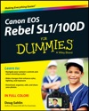 Canon EOS Rebel SL1100D For Dummies