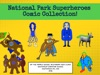National Park Superheroes Comic Collection
