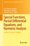 Special Functions Partial Differential Equations And Harmonic Analysis