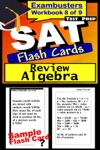 SAT Test Prep Algebra Review--Exambusters Flash Cards--Workbook 8 Of 9