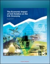 The Economic Impact Of Civil Aviation On The US Economy FAA Study On Outlook Measures GDP Contribution Passenger Expenditures Freight Flows Freight Exports Domestic Air Freight