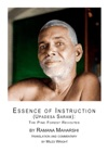 Essence Of Instruction Upadesa Saram