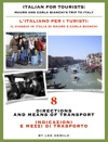 Italian For Tourists Eighth Lesson Directions And Means Of Transport